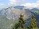 Vue sur la montagne de Sur La Pointe (25 avril 2011)