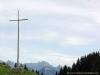 Croix devant les Cornettes de Bise