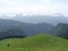 Au loin la chaîne du Mont Blanc (18 juin 2006)