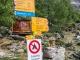 À la Europahütte, suivre la direction de Randa (19 août 2017)