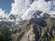 Vue sur le Bishorn et le Bisgletscher (19 août 2017)