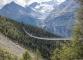 Au cœur des Alpes valaisannes, le pont suspendu Charles Kuonen de Randa se dévoile (19 août 2017)