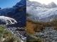 Glacier du Trient : 1978 et 2009 (merci à Noël Cramer pour les clichés !)