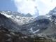 Photo réalisée en Avril 2007 : le glacier est visible, mais pour combien de temps ?