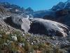 Glacier du Trient en octobre 1978 (merci à Noël Cramer pour les clichés !)