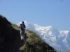 Sentier face au Mont Blanc