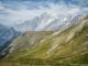Montagne de la Saxe et Mont Blanc (16 juillet 2015)