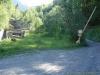 Départ du sentier pour le Refuge Bertone (22 juillet 2005)