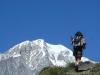 Face au Mont Blanc (22 juillet 2005)