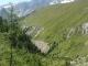 Redescente avec le Mont Blanc en toile de fond (22 juillet 2005)