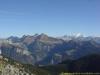 Panorama sur le Massif du Mont-Blanc et du Jallouvre