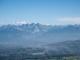 Vue sur le Massif du Mont-Blanc et des Bornes (13 octobre 2017)