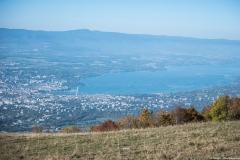Genève et le Léman (13 octobre 2017)