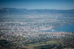 Vue sur Genève et le Léman (13 octobre 2017)