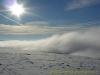 Salève sous la brume (24 décembre 2005)