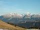 Nombreux sommets au loin
