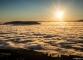Coucher de soleil avec le Salève en arrière-plan (31 octobre 2015)