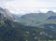 Vue sur le Col de la Colombière, la Pointe de Deux Heures, la Pointe de Grande Combe, et la Pointe d'Almet