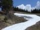 Sentier sous la neige
