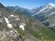 Le Mont-Blanc au loin à droite