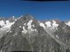 Panorama sur la Chaine du Mont-Blanc versant Italien