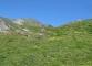 Point de repère à la montée et à la descente dans l'alpage d'Arnuva