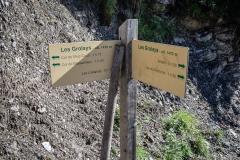 Suivre la direction du Col de l'Aup Couti (1h15) (26 aout 2018)