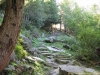 Sentier en direction du Chapeau