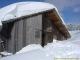 Cabane des Frêtes sous la neige (12 mars 2006)