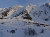 Panorama sur les combes des Aravis (31 décembre 2013)