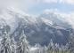 Massif des Aravis sous la neige (12 mars 2006)