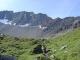 Chemin menant au col d'Entre Deux Sauts (25 août 2004)