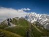 Tête de la Tronche, Tête Bernarda et Mont Blanc (17 août 2016)
