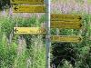 Panneau indicateur pour Bonatti (25 août 2004)