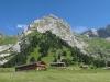 Combe du Grand Crêt avec la Pare de Joux, l'épaule du Mont Rachais, et la Combe de Bella Cha