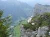 Vue impressionnante sur la vallée