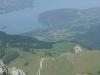 Lac d'Annecy depuis le sentier de la Tournette