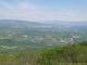 Panorama sur les Bornes au loin