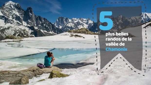 5 plus belles randos de la vallée de Chamonix