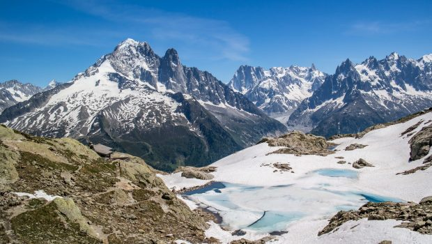 One of the most iconic places in the Aiguilles Rouges: Lac Blanc