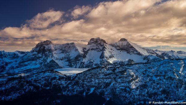 Panorama depuis la Pointe d'Andey