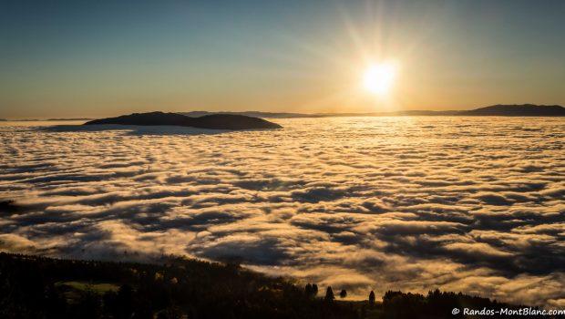 Mer de nuages depuis les Voirons