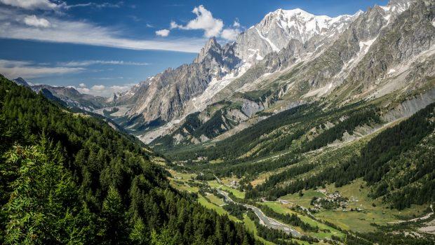 La Tête Entre-Deux-Sauts (2729 m) par le Refuge Bonatti