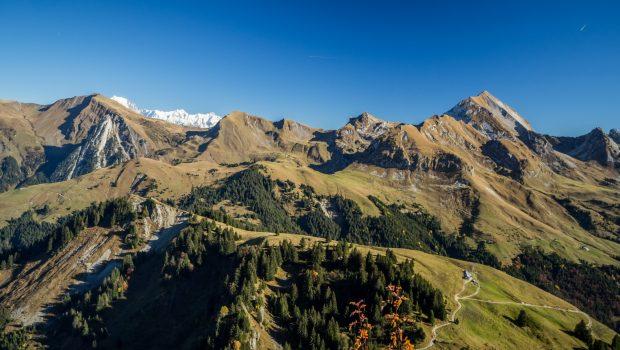 Panorama depuis la Montagne de Sulens
