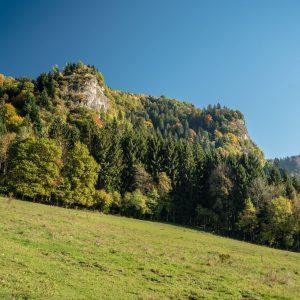 Mont Vouan depuis le chemin menant aux Meulières de Grande Gueule