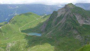 Lac Vert depuis la Pointe de Chésery