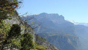 Aiguille de Varan depuis la Montagne de Chevran