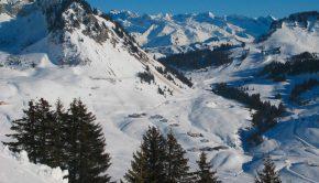 Vue depuis le Col de Cordon