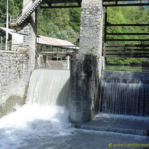 Barrage EDF après le Pont du Diable