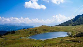Lac du Roy situé en contrebas du Pic du Marcelly